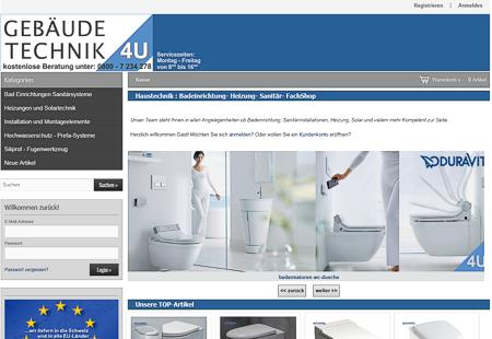Haustechnik : Badeinrichtung- Heizung- Sanit�r- FachShop