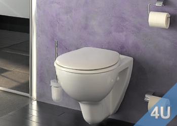 Wand-WC und Stand-WC