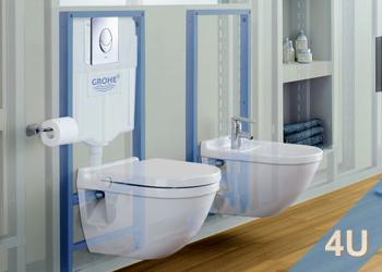 Montageelemente Vorwand WC