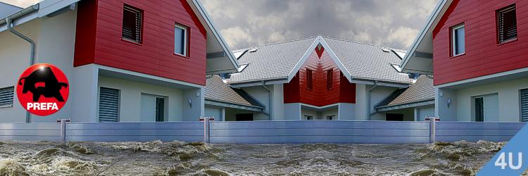 Hochwasserschutz - Prefa-Systeme