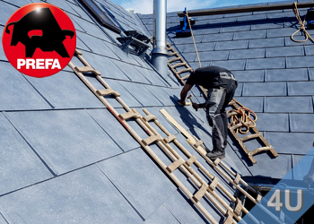 Dachsysteme und Dachentwässerung von Prefa