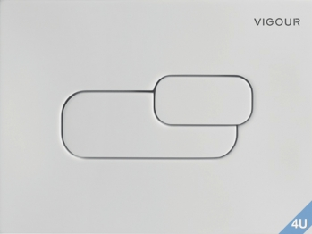 Vigour Betätigungsplatte AI 2 manhattan für WC