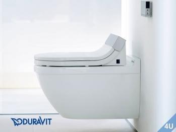 duravit dusch wc sitz mit verdeckten anschl ssen sensowash. Black Bedroom Furniture Sets. Home Design Ideas