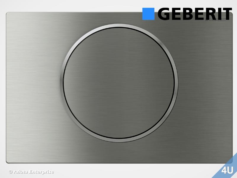 Super Geberit Betätigungsplatte Sigma10 für WC-Elemente, Farbe OX59