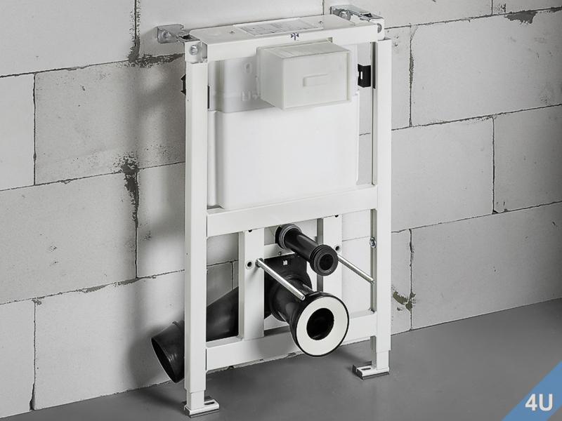 Betätigungsplatte TEES für WC Farbe weiss chrom Conel VIS Vigour