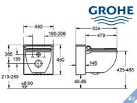 Vigour Betätigungsplatte AI Glas (mint) - Glas (weiß) für WC