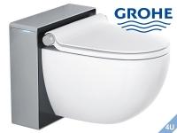 GROHE Sensia IGS Dusch-WC Komplettanlage weiß- mattchrom -schwarz