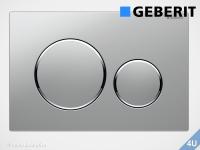 Geberit Betätigungsplatte Sigma20 mattchrom / hochglanz-verchromt für WC