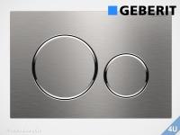 Geberit Betätigungsplatte Sigma20 Edelstahl gebürstet / poliert für WC