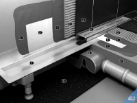 VIGOUR :: Rohbau-Set Wandeinlauf für Designrost Cosima für Edelstahl gebürstet