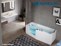 Novellini :: Hydropool Novellini IRIS weiss  180x 75 / 85 cm weiss