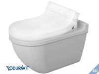 Duravit Wand-Tiefspuel-WC Starck 3 für SensoWash WC-Deckel